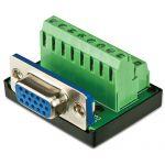 BTX SLIM 15-pin HD15 Female Connector
